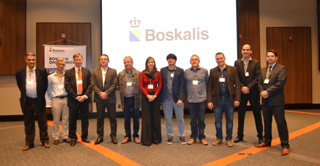 Palestrantes e organizadores do 3º Boskalis On The Move